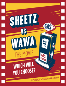 Sheetz Vs. Wawa: The Movie Poster